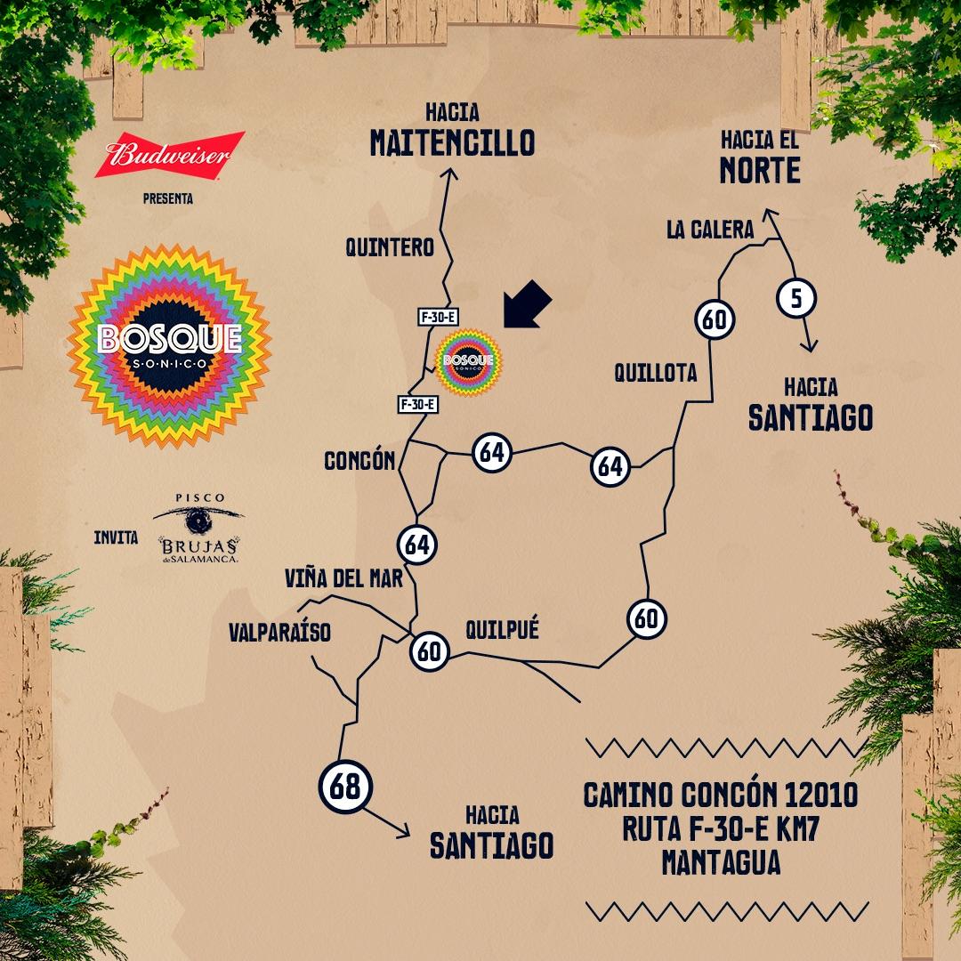 Bosque Sónico trae 13 horas música y concurso para conseguir entradas 2