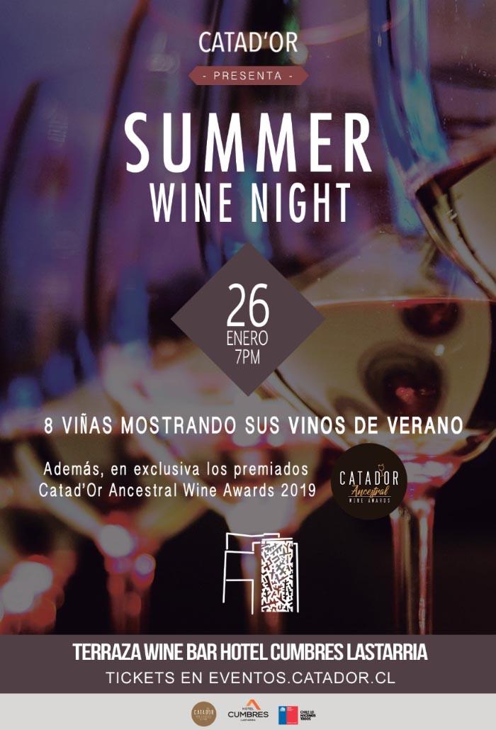 Summer Wine Night: ¡20% de descuento en las entradas para esta fabulosa cata de vinos #catadorwinebar! 1