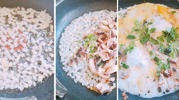 Receta: Omelette de champiñones 2