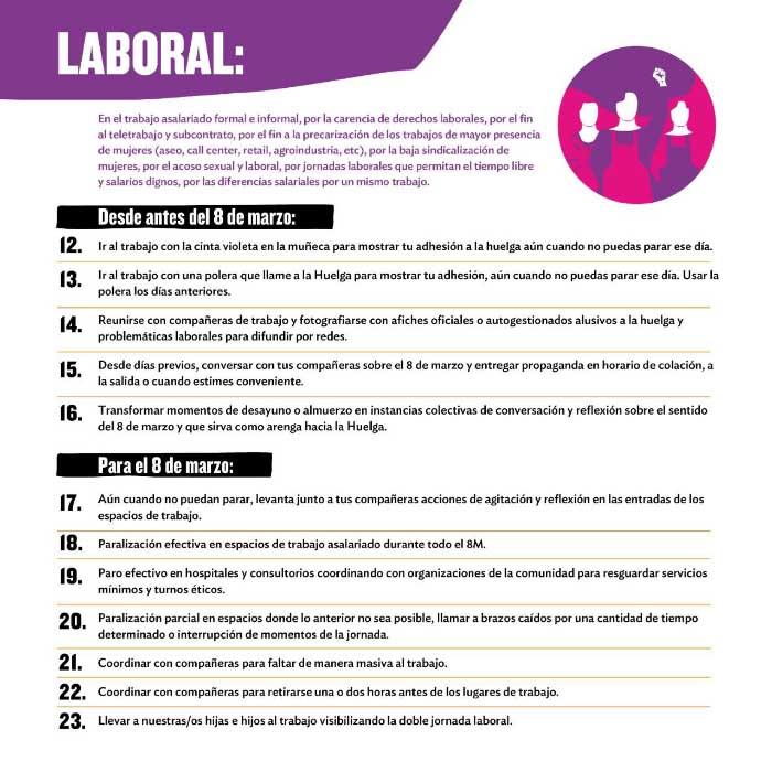 Todo sobre #LaHuelgaFeministaVa de este 8 de marzo 3