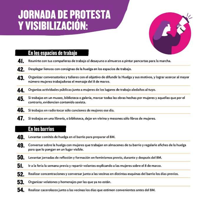 Todo sobre #LaHuelgaFeministaVa de este 8 de marzo 5