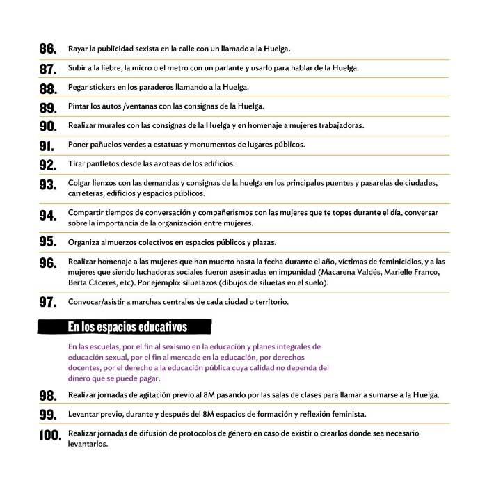 Todo sobre #LaHuelgaFeministaVa de este 8 de marzo 8