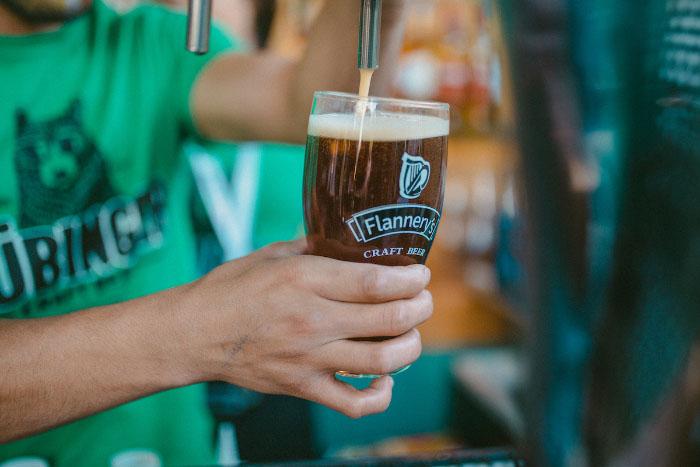 El verdadero St. Patrick's Day se celebra en Irish Geo Pub y Flannery's Beer House 1