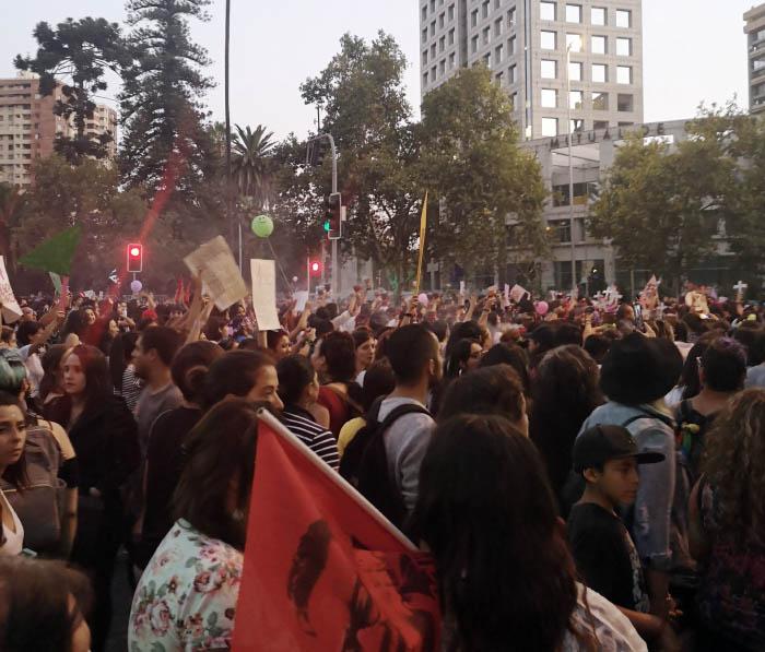 Apuntes de la marcha #8M: No somos histéricas, somos históricas 12