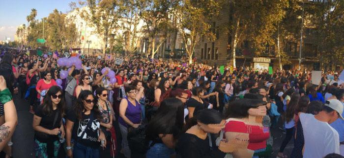 Apuntes de la marcha #8M: No somos histéricas, somos históricas 8