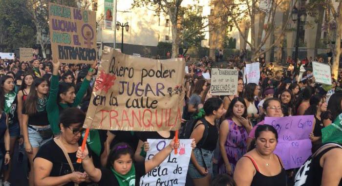 Apuntes de la marcha #8M: No somos histéricas, somos históricas 3