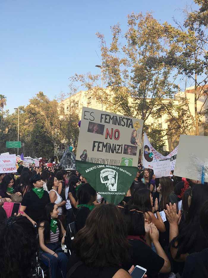 Apuntes de la marcha #8M: No somos histéricas, somos históricas 2