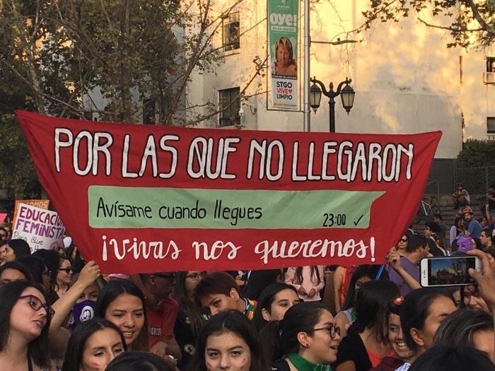 Apuntes de la marcha #8M: No somos histéricas, somos históricas 1