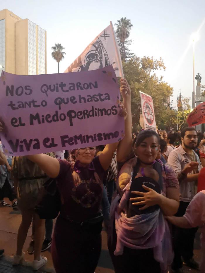 Apuntes de la marcha #8M: No somos histéricas, somos históricas 6