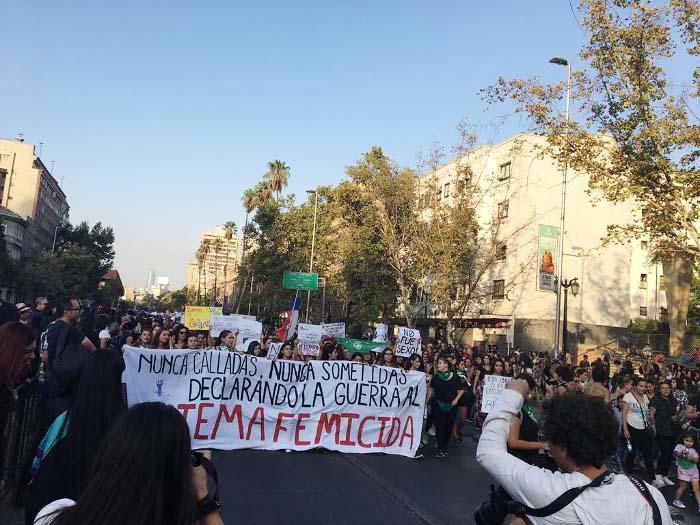 Apuntes de la marcha #8M: No somos histéricas, somos históricas 4