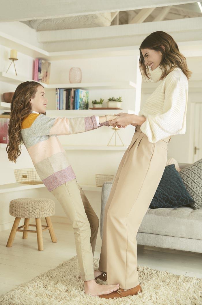 Millaray Viera y su hija Julieta para H&M 6