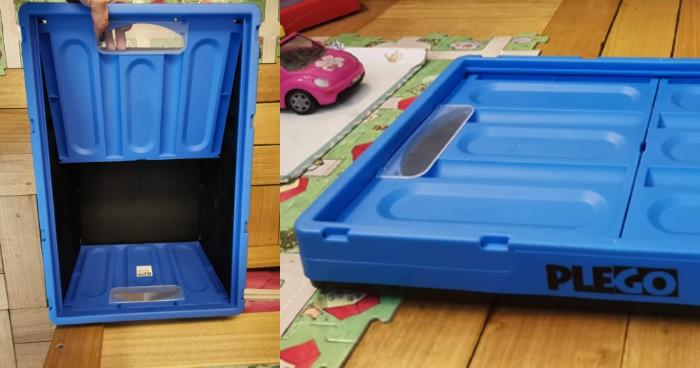 Plego, cajas plegables con diseño y color para ordenar tu casa 2