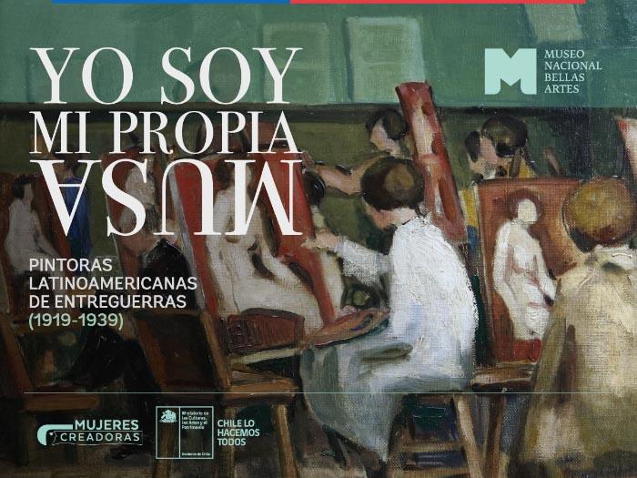 Exposición Yo soy mi propia musa en el museo de Bellas Artes