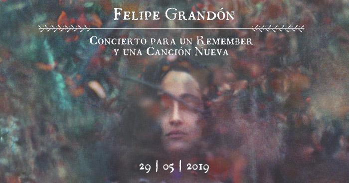 Felipe Grandón concierto
