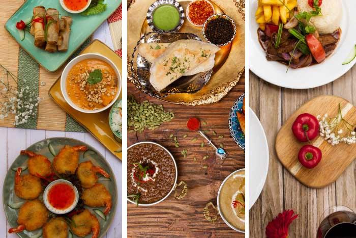 menú de día de la madre en Rocoto, Curry y Masala delivery