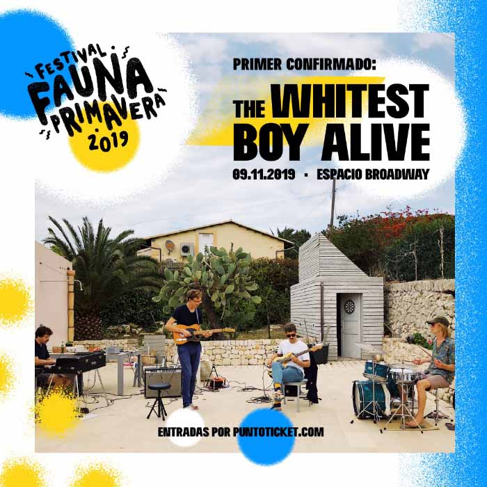 Fauna Primavera The Whitest Boy Alive