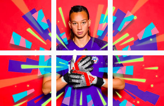 Tiane Endler, nuestra gran figura en el Mundial femenino de fútbol Francia 2019 1