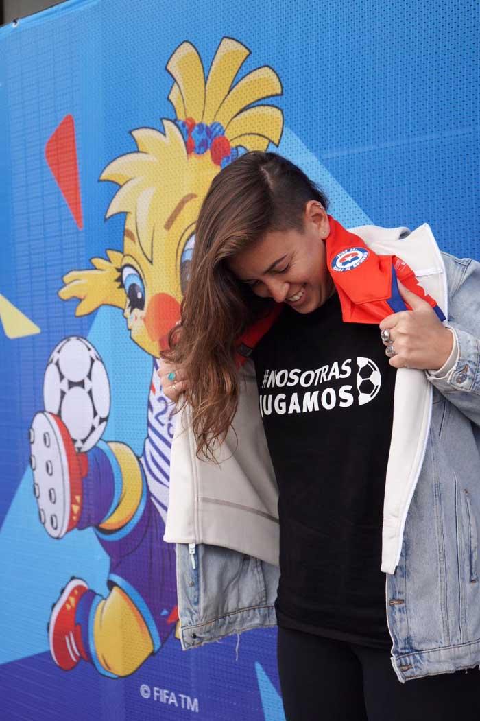 Entrevista a Iona Rothfeld –fundadora de la Anjuff–, desde el Mundial de fútbol femenino Francia 2019 4