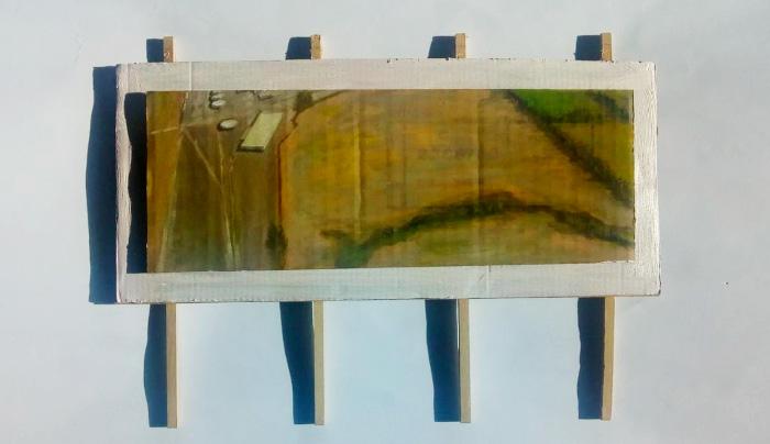 """""""A vista de pájaro"""" (Periferia industrial de Curicó) 1"""
