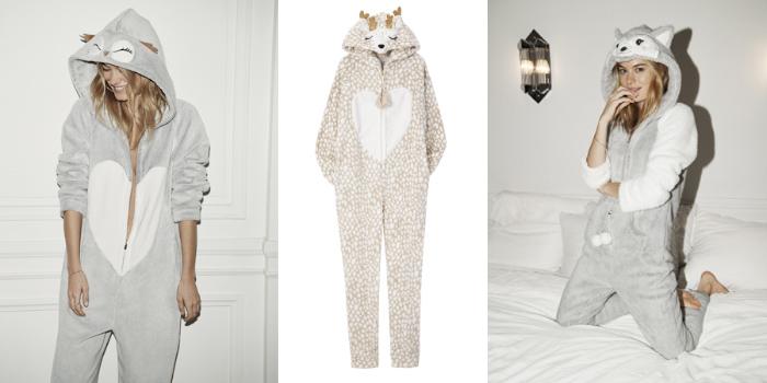 Pijamas de animales para pasar el invierno 1