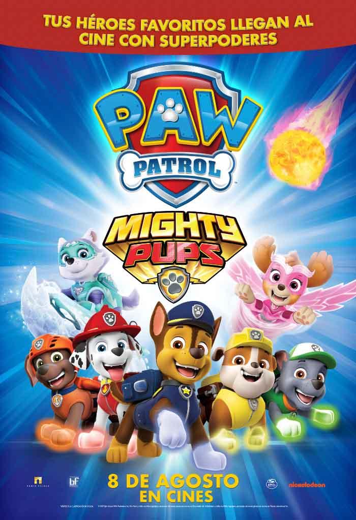 Paw Patrol Mighty Pups