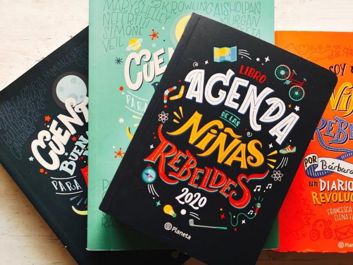 libro agenda de las niñas Rebeldes