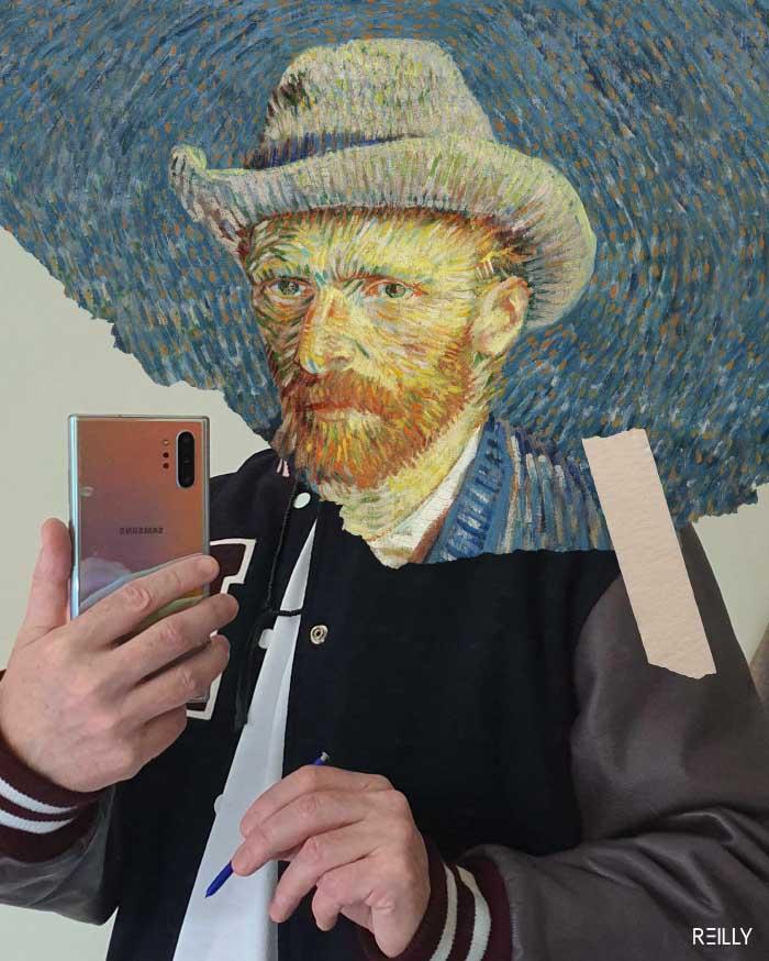 Mobile Masterpieces, la intervención artística tecnológica de Hey Reilly 1