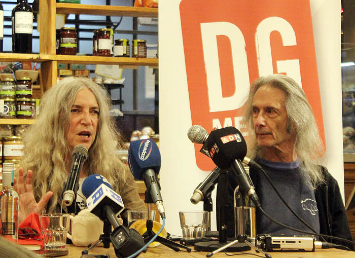 La emocionante conferencia de prensa de Patti Smith en Chile 2