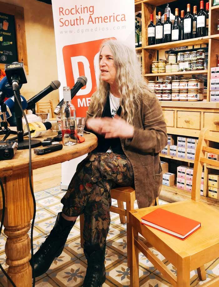 Patti Smith en Chile