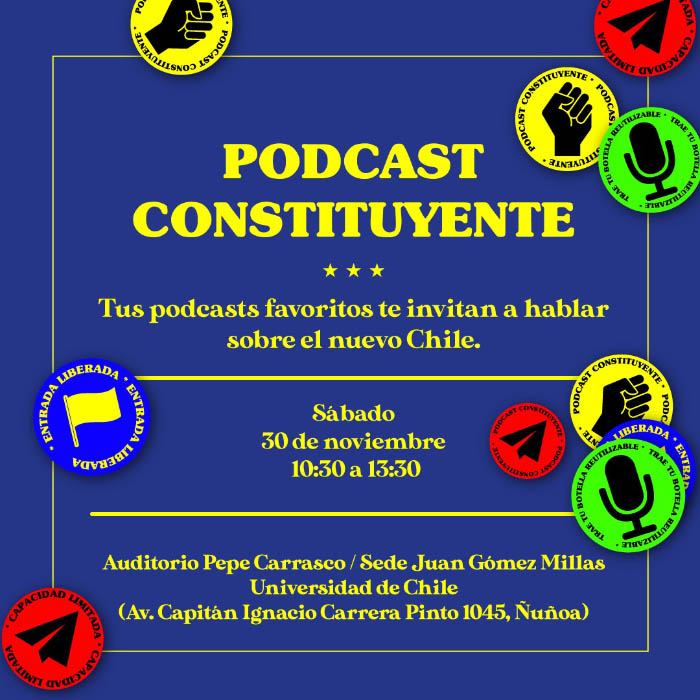 Encuentro de Podcasts chilenos en el actual contexto nacional 1