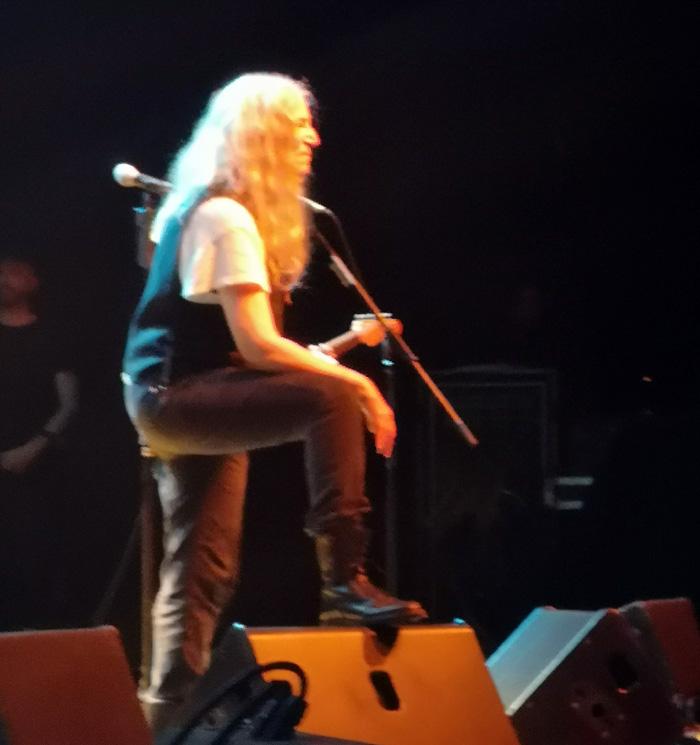 El concierto de Patti Smith en Chile, la grandeza de la sencillez 1