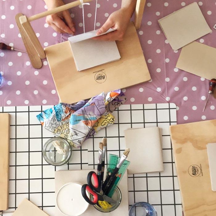 Lupicuadernos, un estudio de diseño y encuadernación artesanal 2