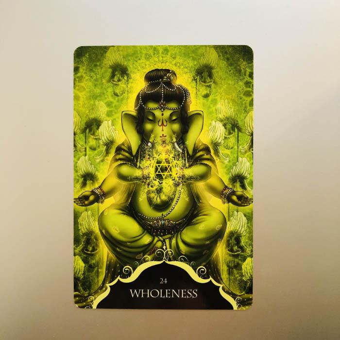 Wellness tarot ganesha