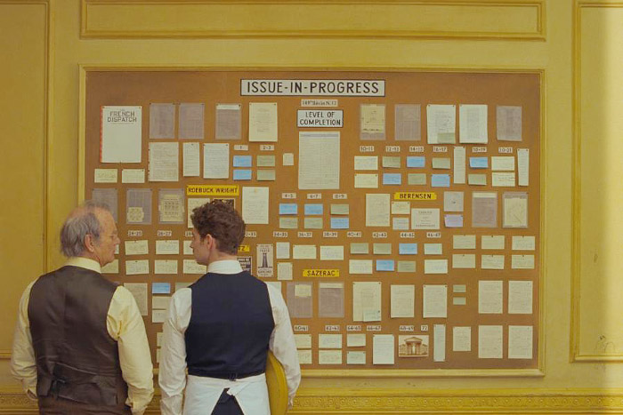 The French Dispatch, la nueva película de Wes Anderson 2
