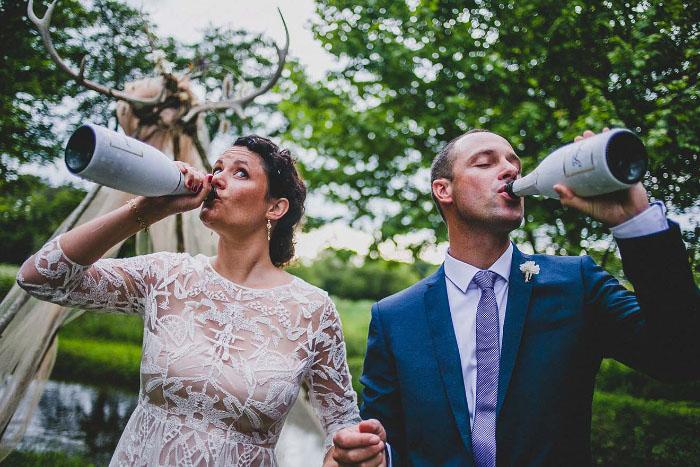 The Richters, video y fotos de matrimonio que registran el lado salvaje del amor 3