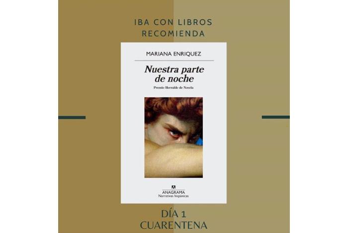 Libro & Cuarentena, una recomendación diaria de Iba con Libros 1
