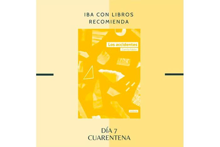 Libro & Cuarentena, una recomendación diaria de Iba con Libros 7