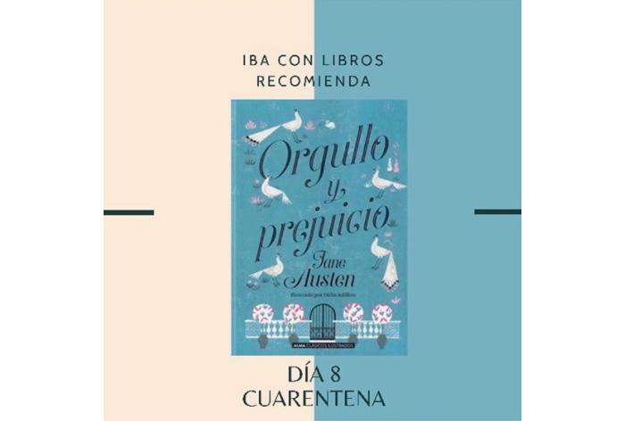 Libro & Cuarentena, una recomendación diaria de Iba con Libros 8