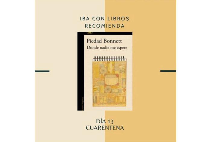 Libro & Cuarentena, una recomendación diaria de Iba con Libros 13