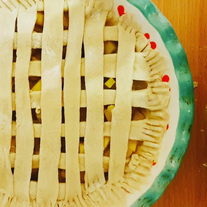 Receta de pie de manzana fácil y versátil 2