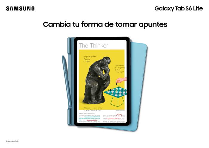 Galaxy Tab S6 Lite, más delgado, más cómodo 1