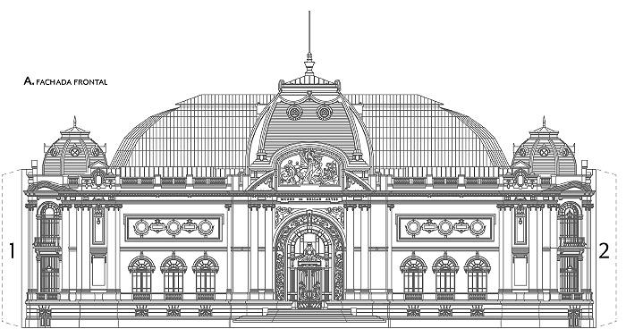 Dibujos para colorear descargables del Museo de Bellas Artes 1