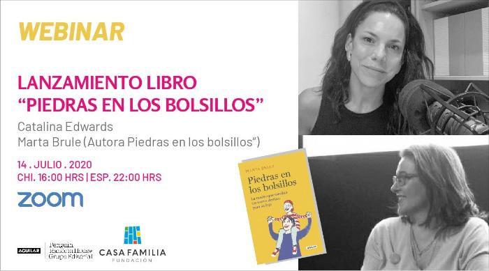 Marta Brule, autora de Piedras en los bolsillos un testimonial sobre el cáncer infanto-juvenil 2