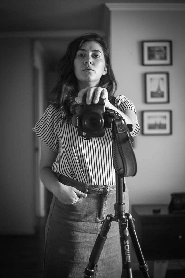 Natalia Espina, comprometida fotógrafa de acontecimientos 4