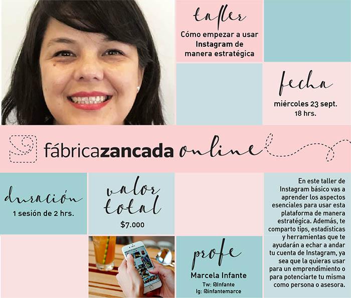 Nuevos talleres de Fábrica Zancada Online en primavera 6