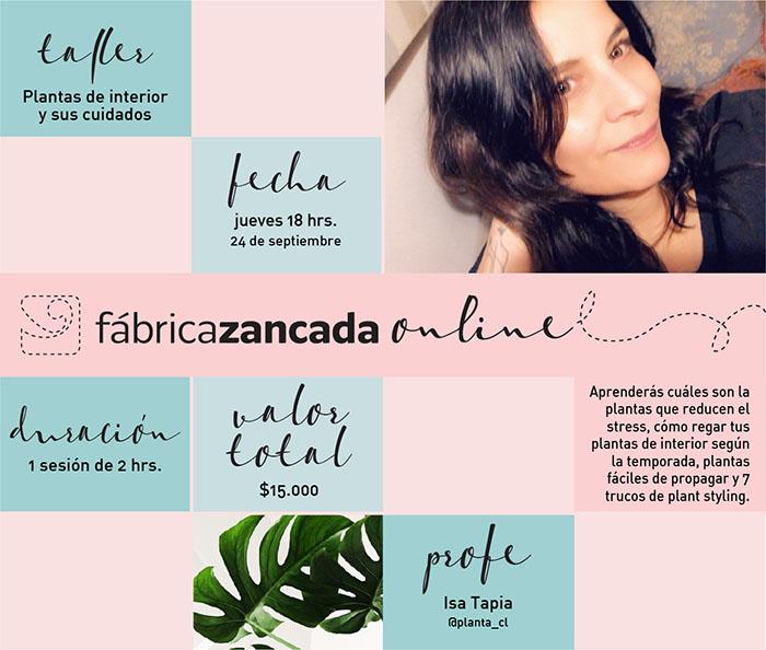 Nuevos talleres de Fábrica Zancada Online en primavera 8