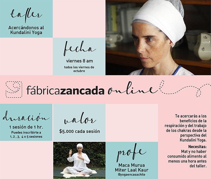 Inscríbete en los talleres de Fábrica Zancada Online 10