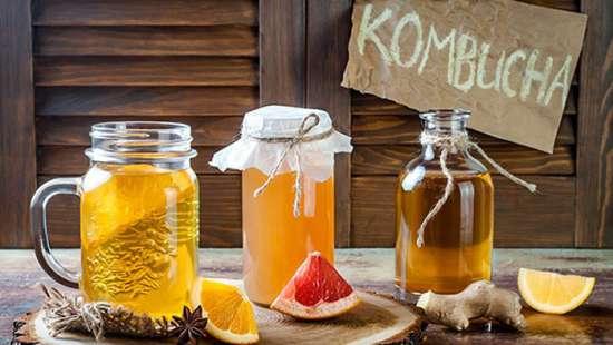 receta de Kombucha