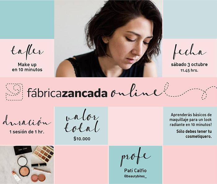 Nuevos talleres de Fábrica Zancada Online en primavera 9