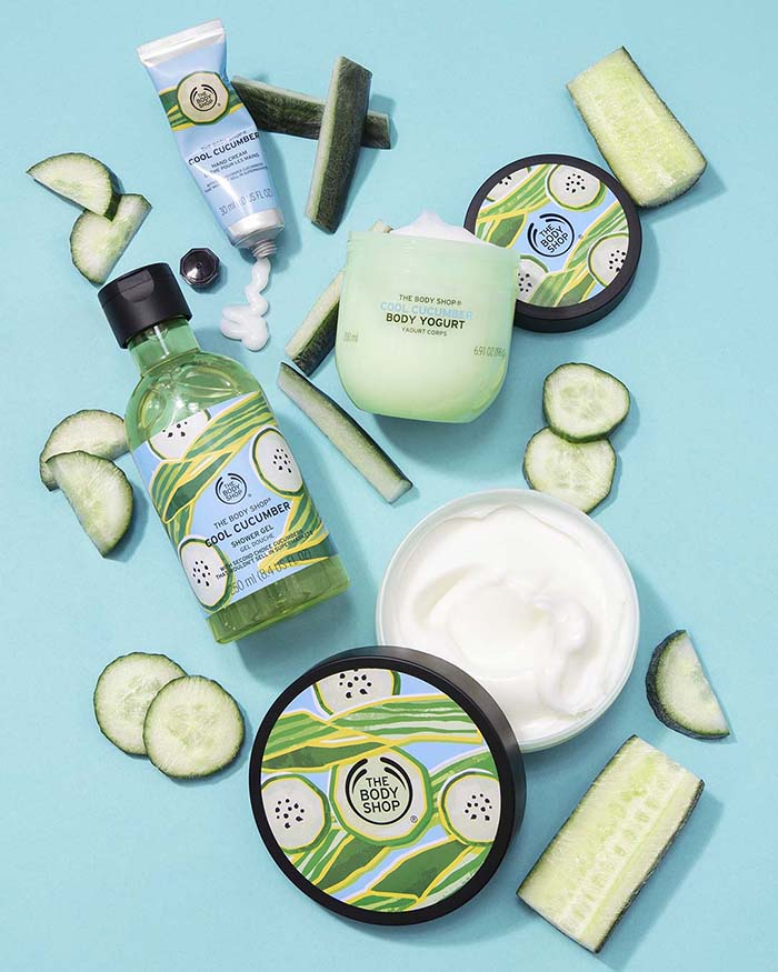 La exquisita textura, aroma y humectación del Cool Cucumber 3